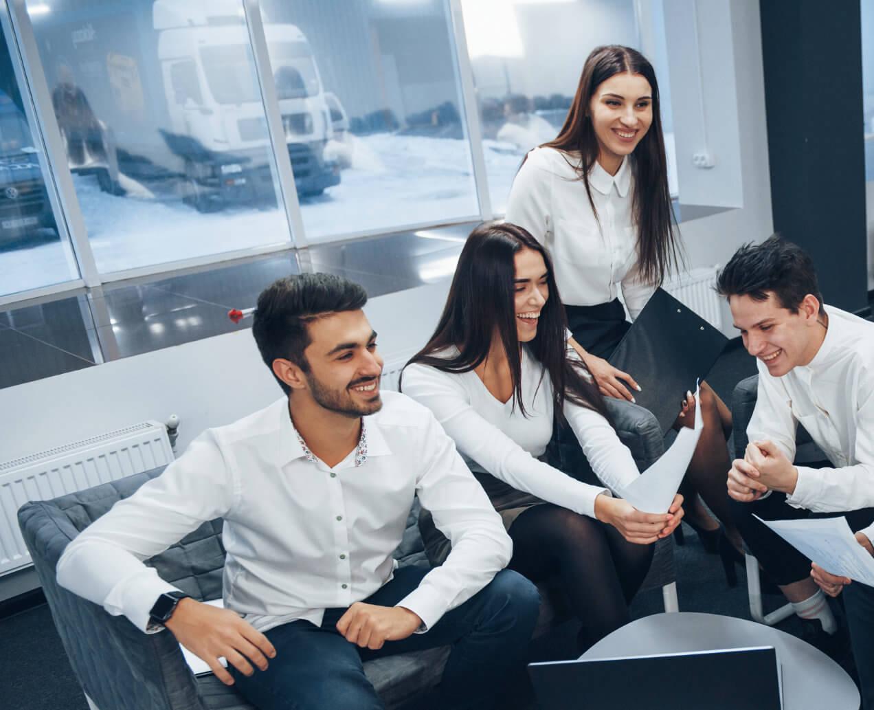 gestion de paie - vos échanges fructueux avec vos salariés illustration -C.G.P.A.S OFFICE accompagnement d'entreprises - gestion de la paie - formation - Gonesse - Ile-de-France