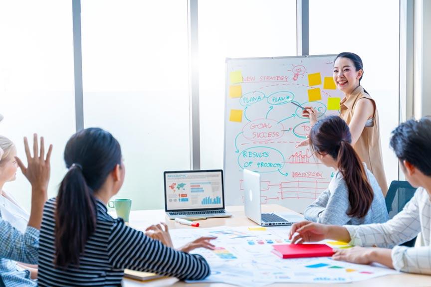 Formation à la gestion d'entreprise - services presentation - Illustration C.G.P.A.S OFFICE accompagnement d'entreprises - gestion de la paie - formation - Gonesse - Ile-de-France