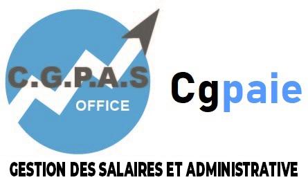 logo - C.G.P.A.S OFFICE accompagnement d'entreprises - gestion de la paie - formation - Gonesse - Ile-de-France