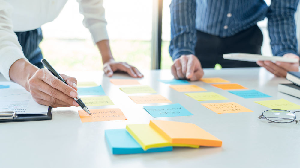 Formation à la gestion d'entreprise - plan marketing - Illustration C.G.P.A.S OFFICE accompagnement d'entreprises - gestion de la paie - formation - Gonesse - Ile-de-France